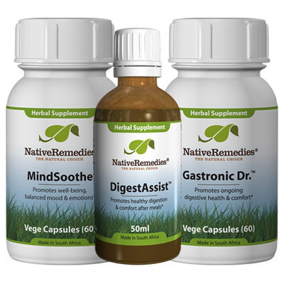 Native Remedies Gastronic Doctor, DigestAssist and MindSoothe PowerPack