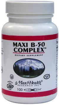 Maxi Health B Complex 50 mg. - 250 Vegicaps