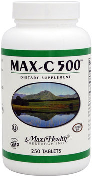 Maxi Health Vitamin C 500 Mg. - 250 Tablets