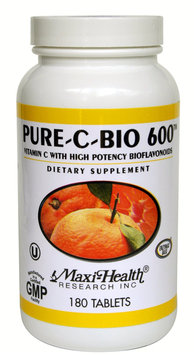 Maxi Health Vitamin C Pure C Bio 600 Mg. - 180 Tablets