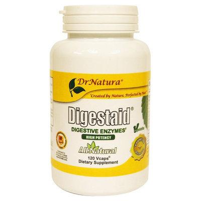 DrNatura Digestaid Digestive Enzyme Supplement, 120 ct Bottle