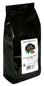 Cafe Altura Organic Coffee, Colombian Dark, Whole Bean, 32 oz Bag