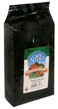 Cafe Altura Organic Coffee, French Roast, Whole Bean, 32 oz Bags