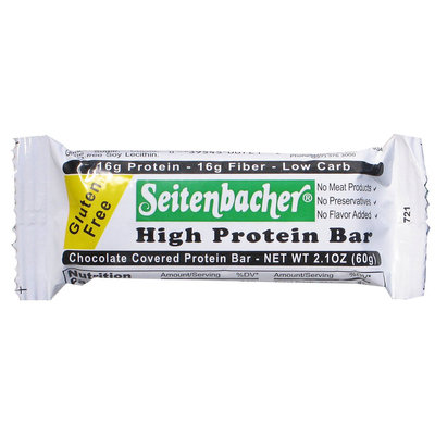 Seitenbacher High Fiber Bar Gluten Free - 2.1 oz