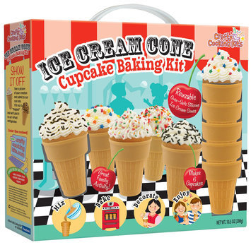 Brand Castle Ice Cream Cone Cupcake Baking Kit