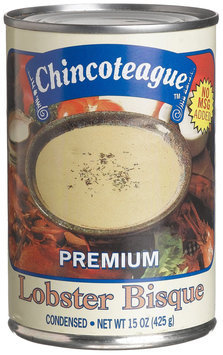 Chincoteague Seafood Lobster Bisque, 15 oz Cans, 12 ct