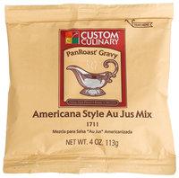 Custom Culinary Master's Touch Americana Au Jus (PanRoast Gravy) Mix, 4 oz Pouches, 24 ct
