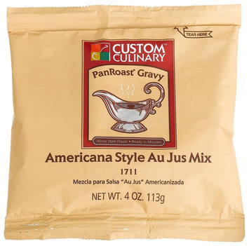 Custom Culinary Master's Touch Americana Au Jus (PanRoast Gravy) Mix, 4 oz Pouches, 24 ct