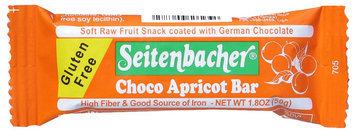 Seitenbacher Gluten Free Chocolate Apricot Bar, 1.8 oz Bars, 12 ct