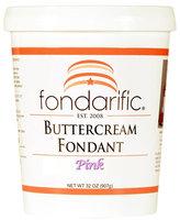 Fondarific Butter Cream Fondant, 2 lbs