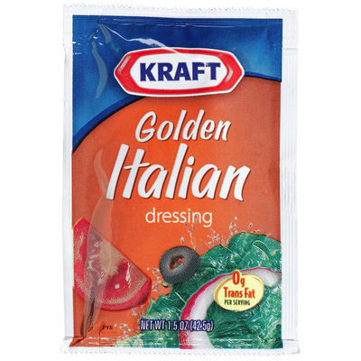 Kraft Golden Italian Salad Dressing, 1.5 oz Packages, 60 ct