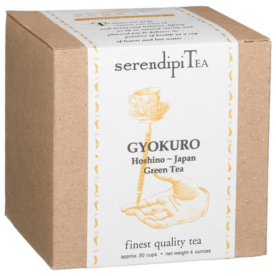 SerendipiTea Gyokuro, Hoshino, Japan, Green Tea, 4 oz Box