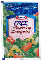 Kraft Raspberry Vinegrette Dressing, Fat Free, 1.5 oz Packages, 60 ct