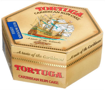 Tortuga Caribbean Rum Cake, Blue Mountain Coffee, 33 oz Box