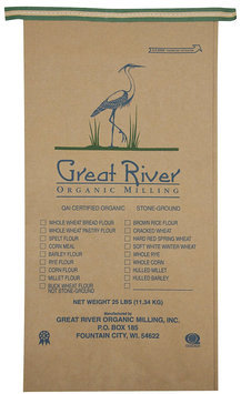 Great River Organic Milling Organic Whole Grain Hot Cereal, 25 lb Package