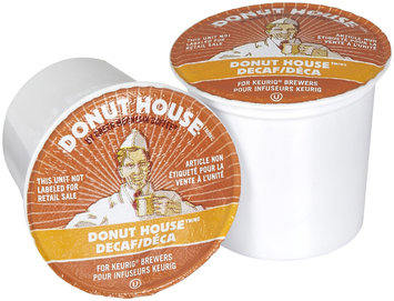 Donut House Collection Coffee Decaf, Light Roast, 24 ct K-Cups for Keurig Brewers