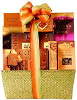Wine.com Godiva Milk Chocolate Gift Basket, 2.55 lb