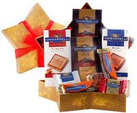 Wine.com Stellar Ghirardelli Chocolate Assortment Star Shaped Gift Box