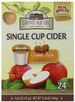 Grove Square Hot Cider Single Serve K-Cups for Keurig Brewers