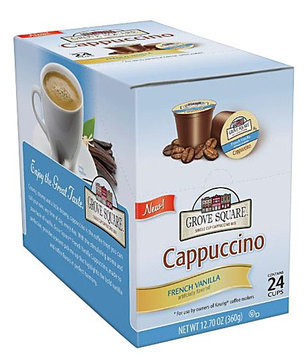 Grove Square Cappuccino Grove Square Single Serve Cappuccino K-Cups for Keurig Brewers