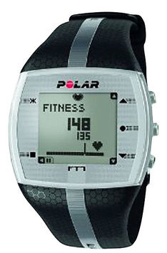 Polar FT7 Mens Black/Silver Heart Rate Monitor Watch