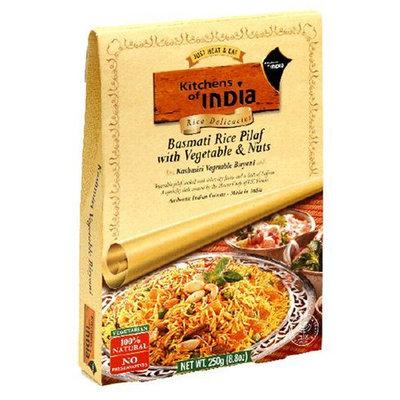 Kitchens Of India Rice Pilaf w/ Vegetables & Nuts