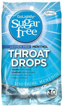 GoLightly Sugar, Free Cough Suppressant, Menthol, 30 ct, 24 pk