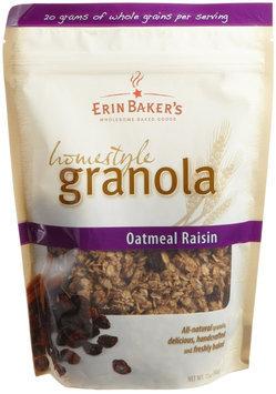 Erin Baker's Homestyle Granola Oatmeal Raisin - 12 oz