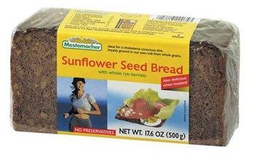 Mestemacher Sunflower Seed Bread, 17.6 oz Packages, 12 pk