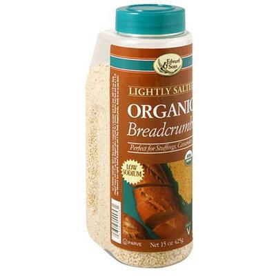 Edward & Sons Organic Low Sodium Breadcrumbs - 6 pk.