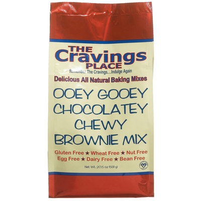 The Cravings Place Ooey Gooey Chocolatey Chewy Brownie Mix