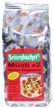 Seitenbacher All Natural Cereal #2 Berries Temptation - 1 lb