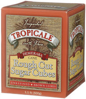 Tropicale Demerara Cane Rough Cut Sugar Cubes - 6 pk.