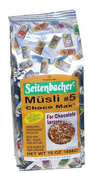 Seitenbacher All Natural Cereal #5 Choco Max 1 lb