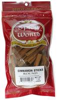 Spicy World Cinnamon Sticks, 6 pk