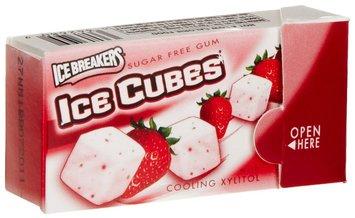 Ice Breakers Strawberry Smoothie Sugar Free Gum, 16 pk