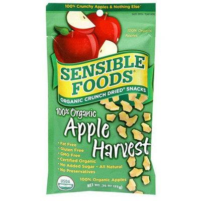 Sensible Foods Organic Crunch Dried Snacks, Apple Harvest, 24 pk