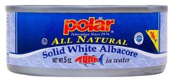 Polar All Natural Solid White AlbacoreTuna in Water, 6 oz Units, 24 pk