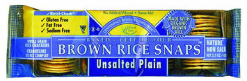 Edward & Sons Unsalted Plain w/ Organic Brown Rice, 12 pk