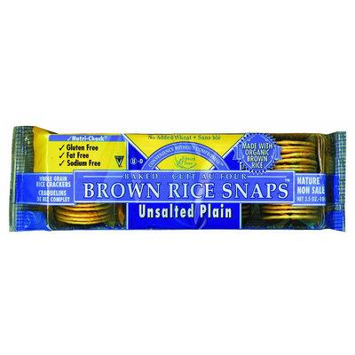 Edward & Sons Unsalted Plain w/ Organic Brown Rice, 12 pk