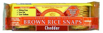 Edward & Sons Cheddar w/ Organic Brown Rice, 12 pk