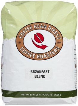Coffee Bean Direct Breakfast Blend, Whole Bean Coffee, 5 lb bag