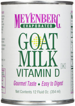 Meyenberg Evaporated Goat Milk, 12 oz Cans, 12 pk