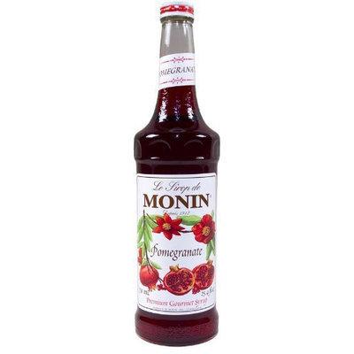 Monin Flavored Syrup, Pomegranate, 33.8 oz Plastic Bottles, 4 pk