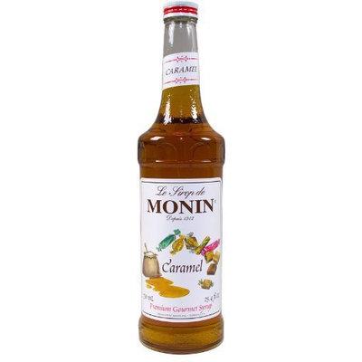 Monin Flavored Syrup, Caramel, 33.8 oz Plastic Bottles, 4 pk