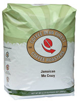 Coffee Bean Direct Jamaican Me Crazy Flavored, Whole Bean Coffee, 5 lb Bag
