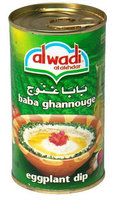 Al Wadi Al Akhdar Baba Ghannouge, Eggplant Dip, 12.75 oz, 12 pk