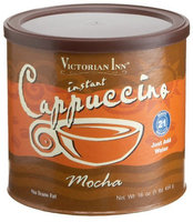 Victorian Inn Instant Cappuccino, Mocha, 16 oz Canisters, 6 pk