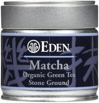 Eden Organic Matcha Tea, green tea Stoned Ground 1 oz Tin
