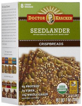 Doctor Kracker Org & Artisan Baked Flatbread, Seedlander, 6 pk